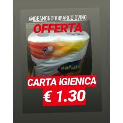 Dahlia Carta igienica 4pz.