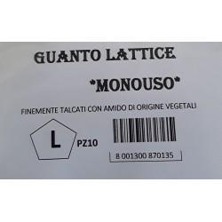 Guanti in Lattice L 10pz.