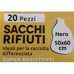 Sacchi Rifiuti Blu/Nero