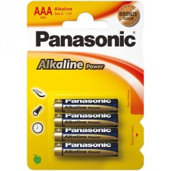 Batteria alcaline Panasonic...